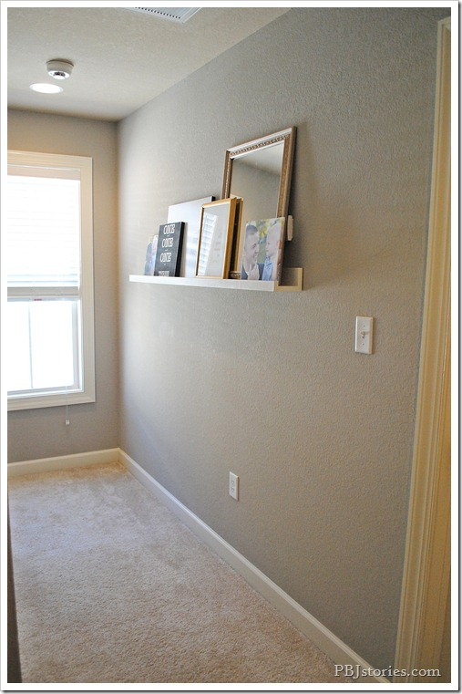 Filling wall space with pictures