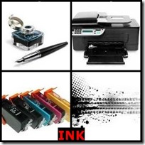 INK- 4 Pics 1 Word Answers 3 Letters