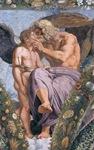 Júpiter con Cupido_ Rafaello sanzio (1617)_