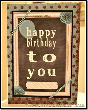 Hybrid Birthday card
