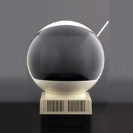 JVC Videosphere space helmet television, model 3240