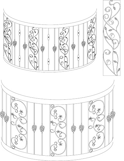 14 jpg gate grill design 2005 illustrator grill design
