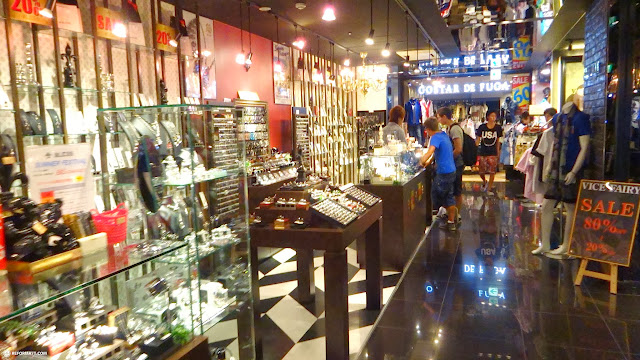 the popular Shibuya 109 men's shopping mall for guys only in Shibuya, Tokyo, Japan