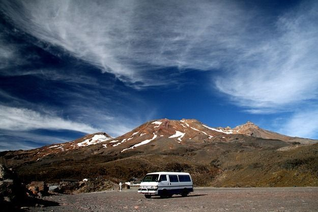 Bernie and Mount Ruapehu