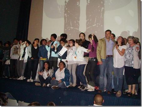 Juan Pablo de Jesús junto a los Ganadores de Poné Pausa 2010