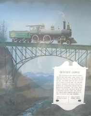 8.8.11 VT Quechee Gorge railroad sign