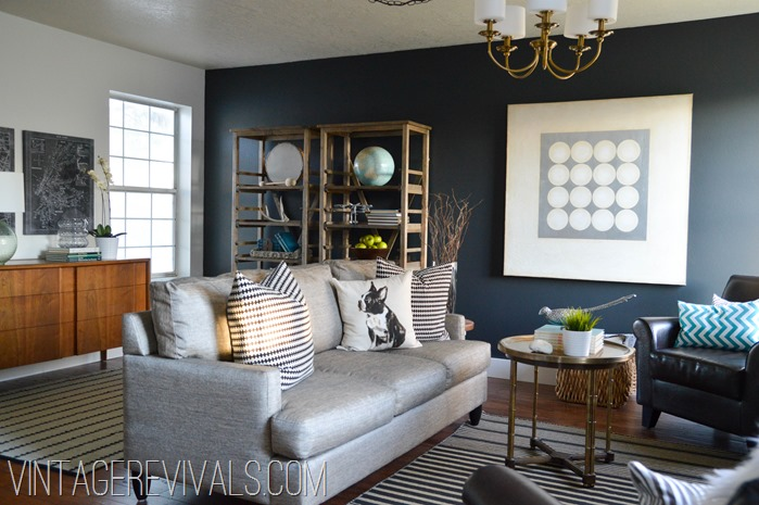 Living Room Makeover @ Vintage Revivals