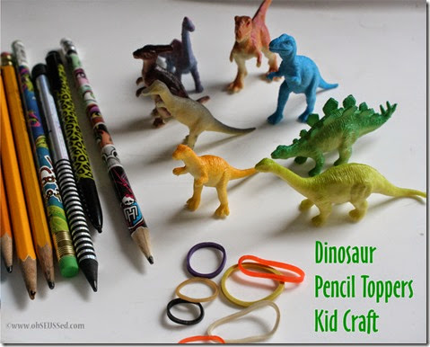 Dinosar Pencil Craft_obSEUSSed_a