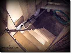 Scary Cellar stairs