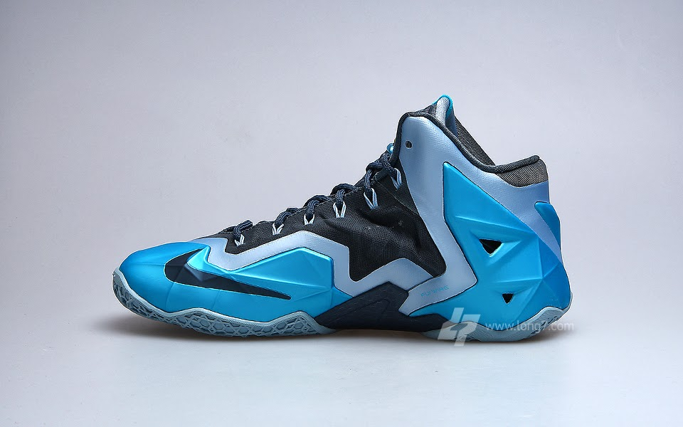 Lebrons 11 Blue And Red NIKE LEBRON –...