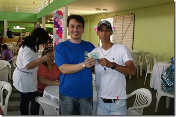 Ganhador do Prêmio de R$ 500,00