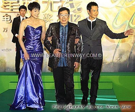 STARHUB TVB AWARDS KEVIN CHENG  MYOLIE WU FENG LINDA CHUNG KA YAN MOSES CHAN 2012 HONG KONG CELEBRITIES WINNERS SUNNY CHAN RUCO CHEN FA LA KATE TSUI TAVIA YEUNG GRASSHOPPER WAYNE LAI KENNETH MA KENNY WONG SELENA LI MARINA BAY SANDS