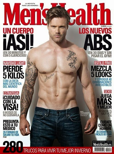 Nick Youngquest - Men's Health ES Dec 2014