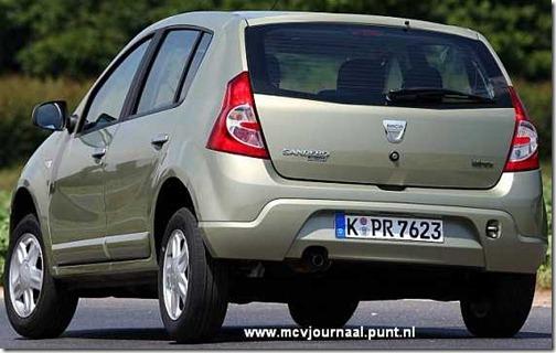 Dacia Sandero in detail 02