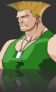 Guile do Street Fighter Alpha 3