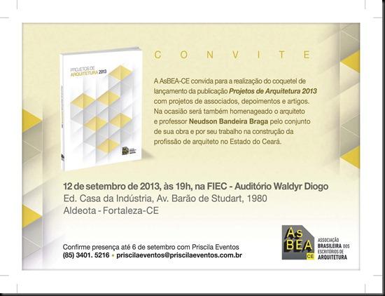 Convite AsBEA - Lançamento do Livro