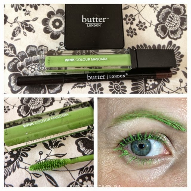 butter LONDON Wink Mascara collage by polish insomniac
