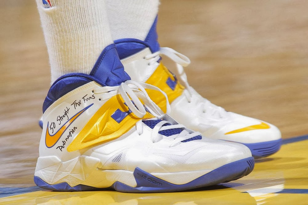 Draymond Green Celebrates 50 Sellouts with new LEBRON iD8217s ...