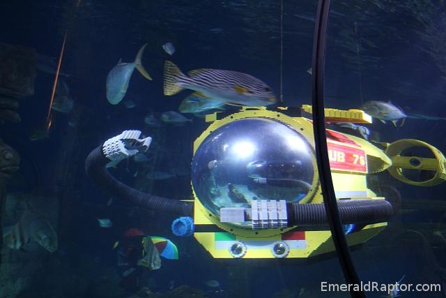 Atlantis lego aquarium