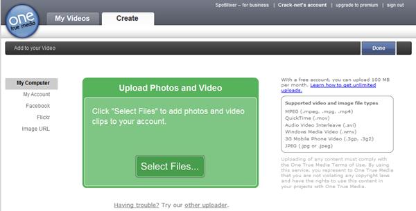 Montage vidéo/photo en ligne gratuit