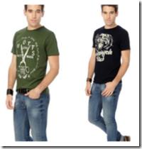 Trendin Summer's Special : PEOPLE Men's T shirts FLAT 40% off!!