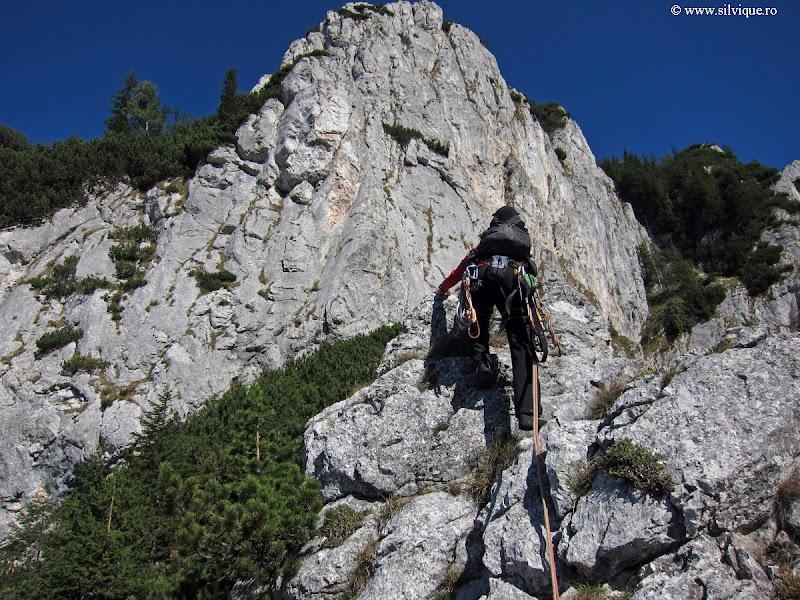Piatra Craiului - Traseul Surplombelor (6A 7- A1, 9lc)