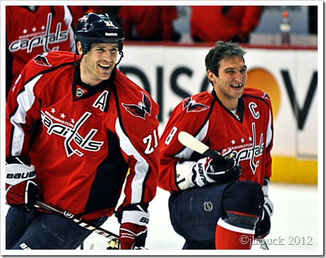 Laich and Ovechkin
