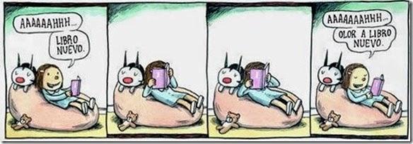 Ricardo Liniers - Cheiro de livro novo