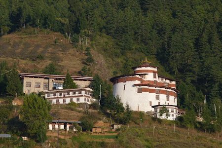 Obiective turistice Bhutan: muzeul istorie Paro