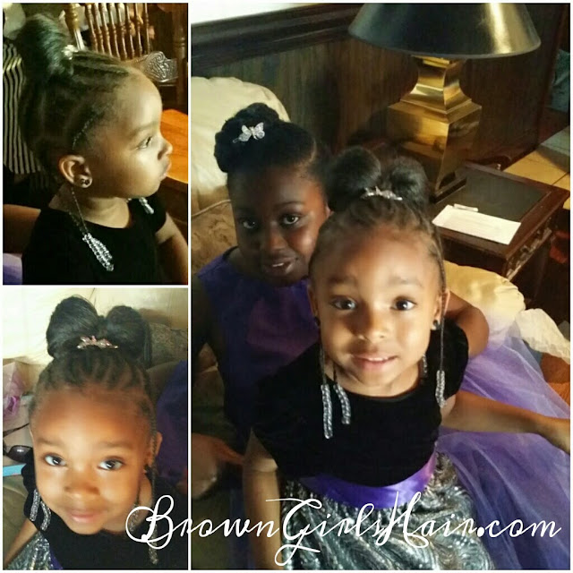 hair styles for natural girls, biracial hairstyles, flower girl hairstyle, braids, updo