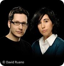 Javi Araguz e Isabel Hierro