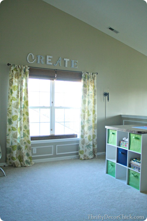 loft craft room