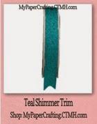 teal shimmer trim-200