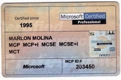 Certificados de Microsoft