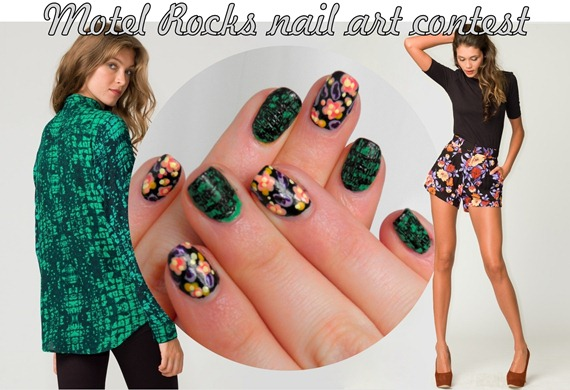 MOTEL ROCKS NAIL ART CONTEST