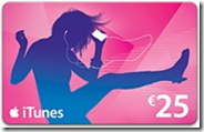 iTunes Card €25