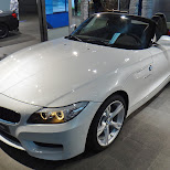 z4 at bmw welt in Munich, Bayern, Germany