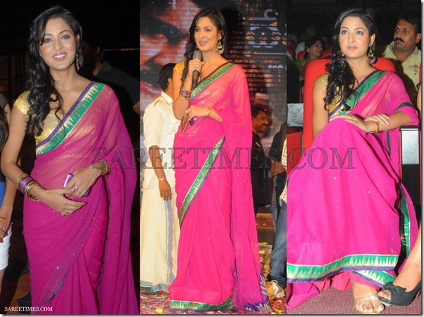 Vidisha_Pink_Embroidery_Saree