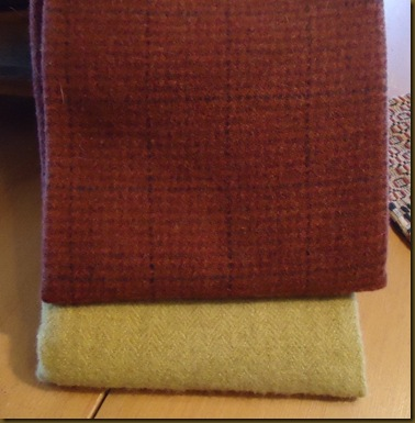 Red Gold Wool