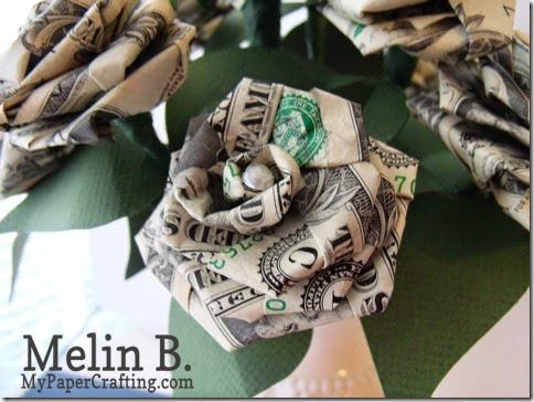 dollar bill rose single cu-480
