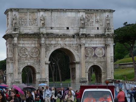 Obiective turistice Roma: Arcul lui Constantin