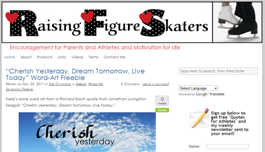 Raising Figure Skaters