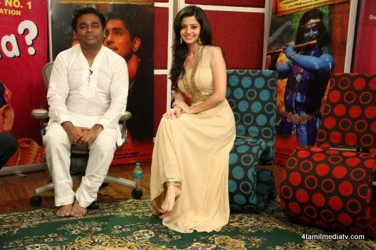 AR Rahman, Nassar, Siddharth @ Kaaviya Thalaivan Press Meet | 4TamilMedia