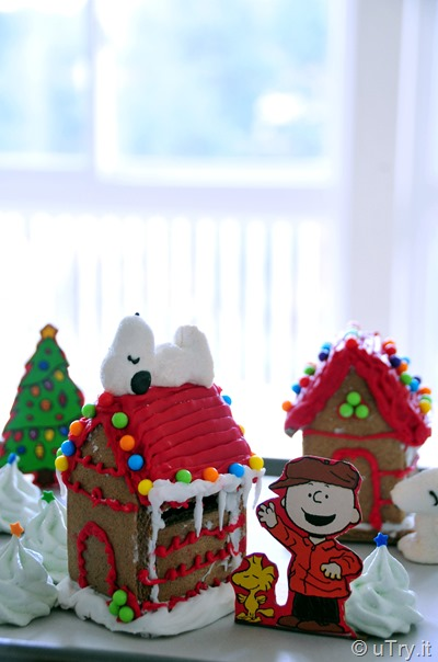 Building Gingerbread Dog Houses