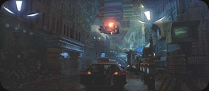 Las calles de Blade Runner