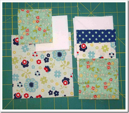 Squares and Stars Fabric