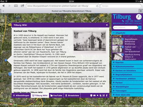 Tilburg op de kaart