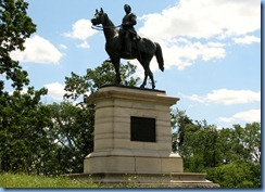 2748 Pennsylvania - Gettysburg, PA - Gettysburg National Military Park Auto Tour - Stop 14 - Major General Henry Slocum Memorial