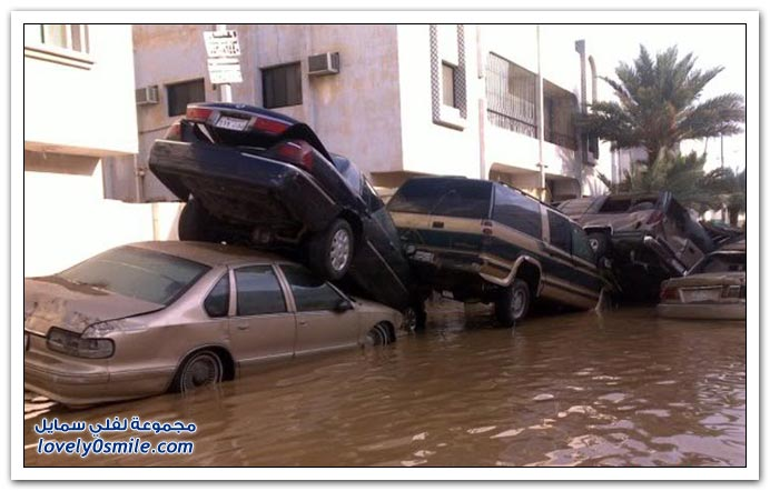 Flood pics from Jeddah