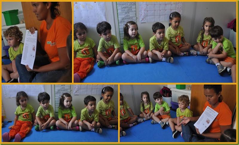 Infantil 3 Tarde - Escolha de livro